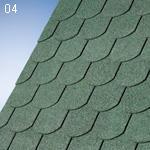 IKO  SUPERGLASS BIBER zelený 03 (3m2/bal)