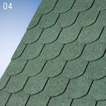 IKO  SUPERGLASS BIBER zelený 04 (3m2/bal)