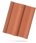 Bramac Classic cihlově červená taška základní