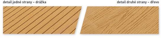 Podlahy - dřevoplastové