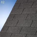 IKO  SUPERGLASS 3-TAB černý 01 (3m2/bal)