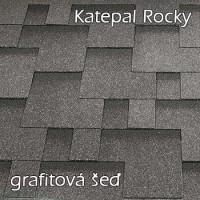 KATEPAL ROCKY grafitová šeď