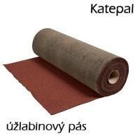KATEPAL úžlabinový pás červený