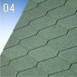 IKO šindel DIAMANT PLUS zelený č.04 (3m2/bal)