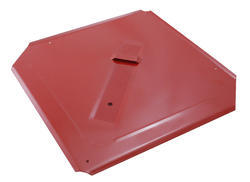 Šablona univerzální 400x400mm KOV červená